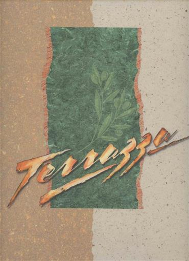 Terrazza Italian Restaurant Menu Caesar S Palace Las Vegas Nevada 1990 S Ebay