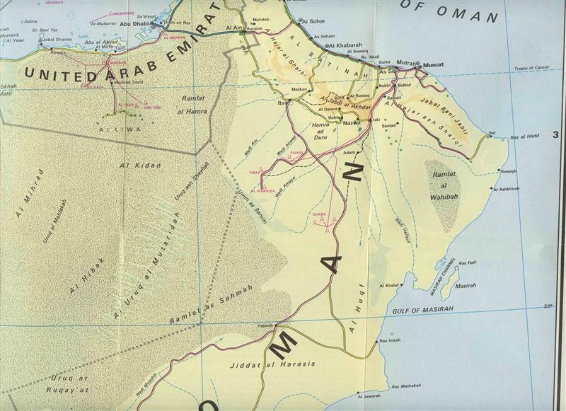 Arabia Map Kuwait Saudi Arabia Bahrain Qatar Oman Yemen United Arab ...
